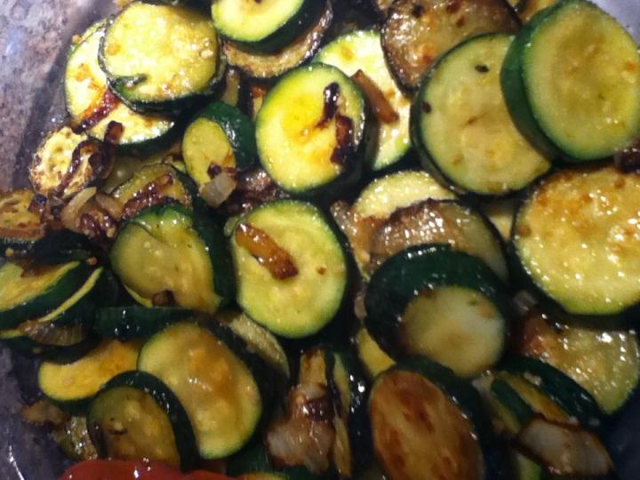 Sauteed Zucchini and Onions | Marisa's Kitchen Talk