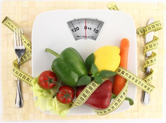 Scale & veggies