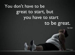 Motivation great to start