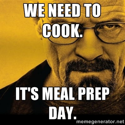 Meal Prep breaking bad