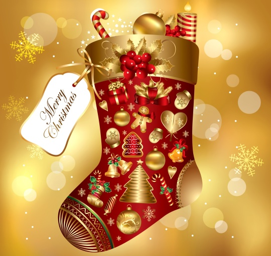 Merry-christmas stocking